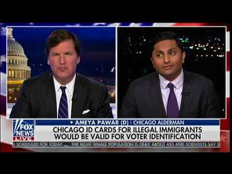 Chicago ID Card For Illegal Immigrants Would Be Valid For Voter Identification - Tucker Carlson