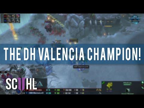 The Dreamhack Valencia 2016 Champion!