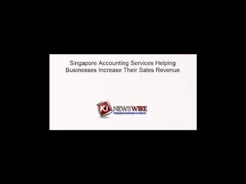 Singapore Accounting Services Helping Businesses Increase Their Sales Revenue