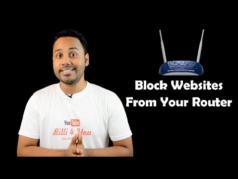 How To Block A Website Using Your Router - TP-LINK