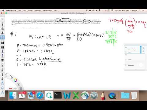 Calculating the Mass of a Gas Produced
