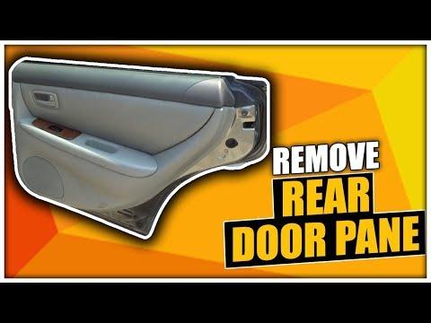lexus is300 front door panel removal
