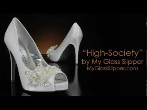 Wedding Shoe Review for High-Society by My Glass Slipper