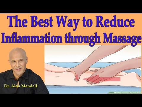 The Best Way to Reduce Inflammation through Massage (Edema, Swelling) - Dr Mandell