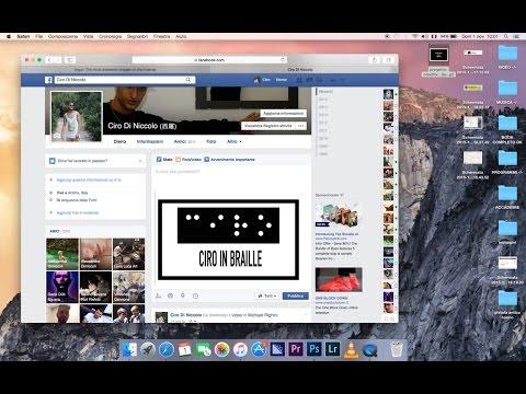 Come pubblicare su FaceBook una GIF da noi creata ( Immagini Animate )