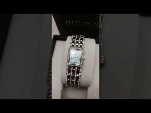 Brand New Lady's Bulova With Crystals