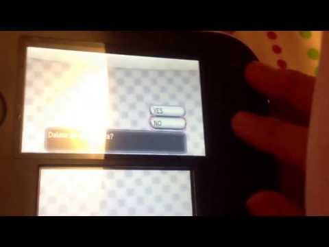 How To Start A New Game In Pokemon X or Y