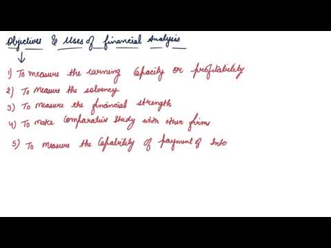 Objective of Financial Analysis | Class 12 Accountancy Analysis of Financial Statements