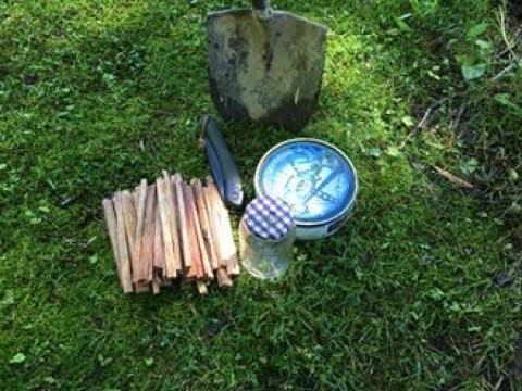 Making Pine Tar