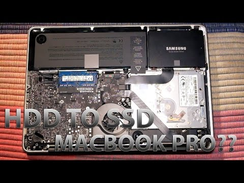 Replace HDD with SSD on Macbook Pro Mid 2012(ft. Samsung 850 EVO)
