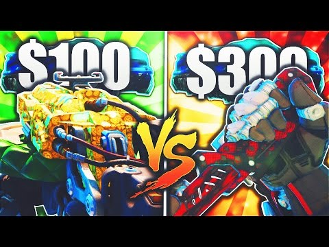 $300 SPECIAL WEAPON Vs $100 D13 SECTOR!! - BLACK OPS 3 NEW DLC WEAPON UNLOCKED! (BO3 New DLC Weapon)