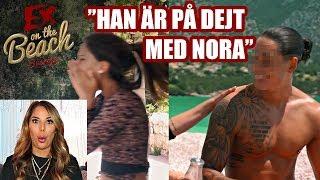 KÄNSLIGT NÄR AMANDAS EX KOMMER IN! | REAGERAR PÅ EX ON THE BEACH AVSNITT 7 *SPOILER*
