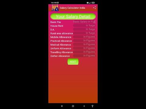 Salary calculator India