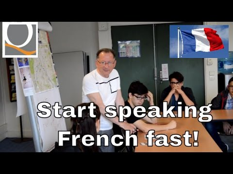 To speak french fast! French courses in Paris