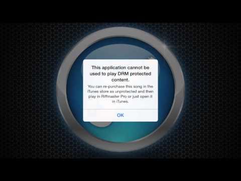 Riffmaster pro iphone app icloud pop up