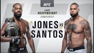 UFC 239: Jon Jones vs Thiago Santos Recap