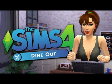 5 STAR RESTAURANT - Sims 4 Dine Out Gameplay - The Sims 4 Funny Highlights #70