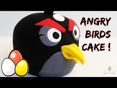 AMAZING 3D Angry Birds 3D CAKE!