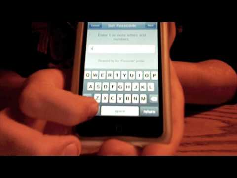 iPhone and iPod Touch Lettered Passcode(Without Jailbreak) - Ethan's App Reviews