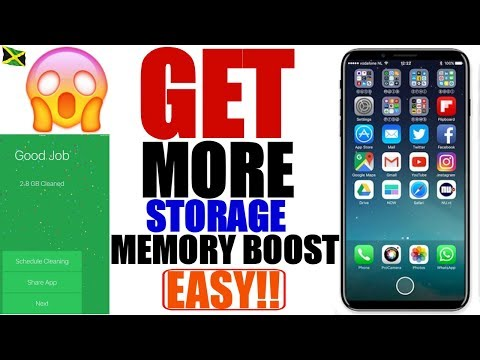 iOS 11/ 9-10.3.3: Clean/Free Up Storage & Boost Memory on iPhone, iPad, and iPod Touch |No Jailbreak