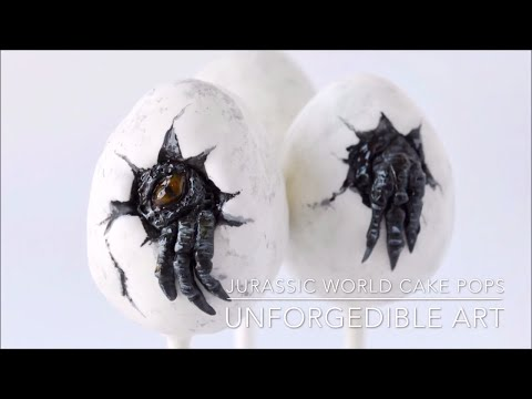 How to Make Jurassic World Cake Pops