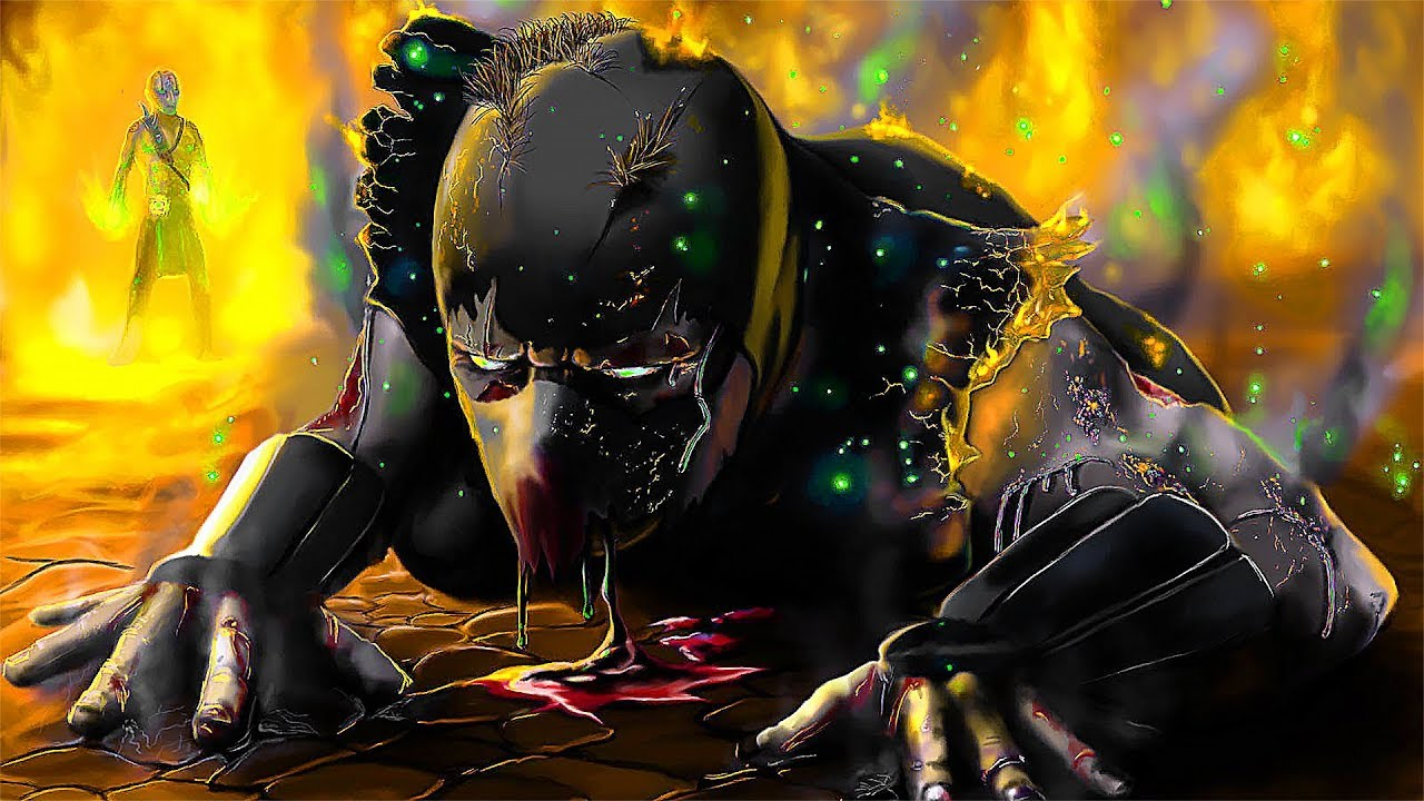 Mortal Kombat Birth Of Noob Saibot Story