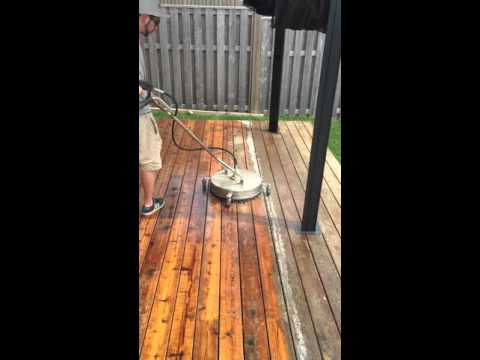 Surface Cleaner- Deck Restoration
