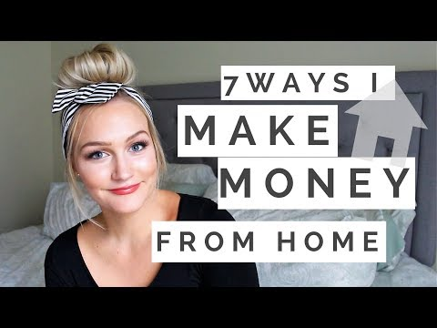 Frugal Living | Ways I Make Money From Home