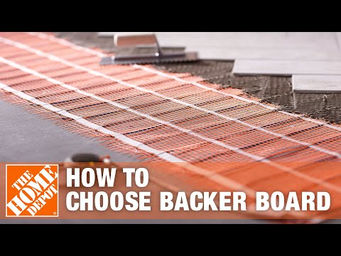 How To Choose Backer Board - The Home Depot