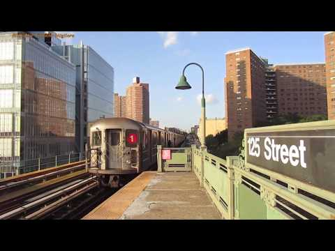 The Subway System of New York 2017 - Manhattan, Brooklyn, Queens