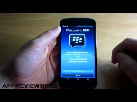 Blackberry Messenger (BBM) on Android Officially Released!