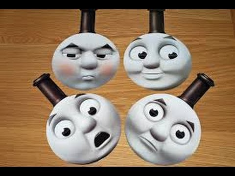 Thomas the tank engine  paper masks