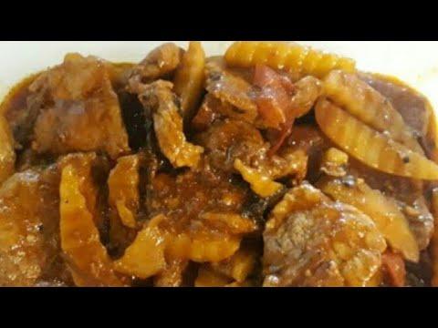 Cooking Pork Asado