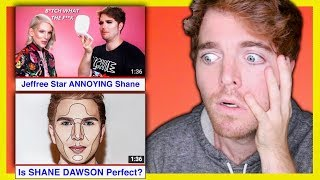 REACTING TO WEIRD COMPILATIONS OF ME