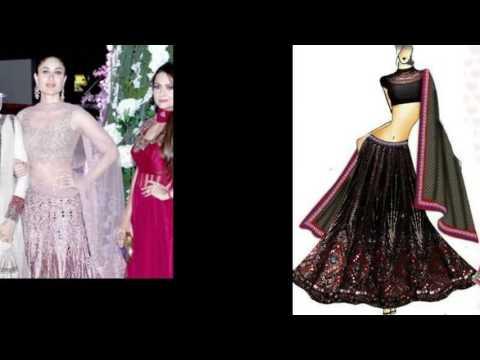 Manish Malhotra Dress Sketches