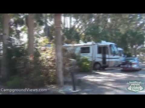 CampgroundViews.com - Turtle Beach Campground Siesta Key Florida FL