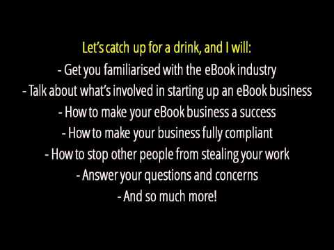Learn How to Sell eBooks on the Internet Perth Western Australia