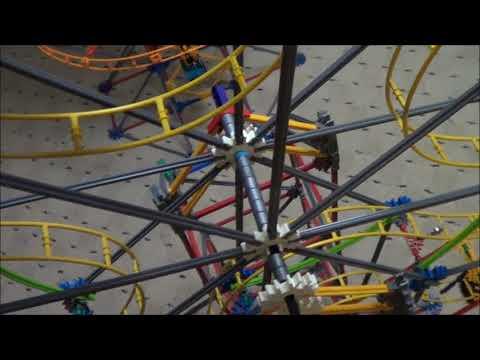 Knex Roller Coaster Build | Ferris Wheel