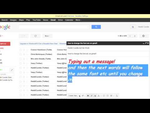 How to Decrease the Font Size on Gmail : The Tech Factor