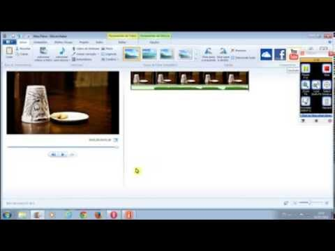 1° Tutorial Movie Maker - Como Fazer Um Stop Motion No Windows Live Movie Maker