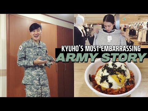 EMBARRASSING Army Story | Gangnam Shopping & Cooking