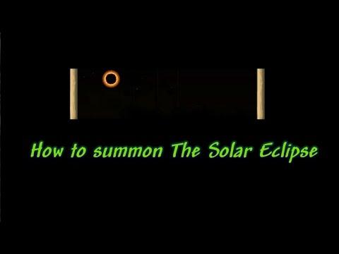 Terraria 1.3 Tutorial, How To Summon The Solar Eclipse