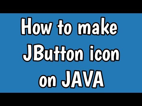 JAVA | How to make a JButton icon