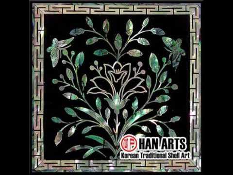 HANARTS - Korean Traditional Design - Shell Tile