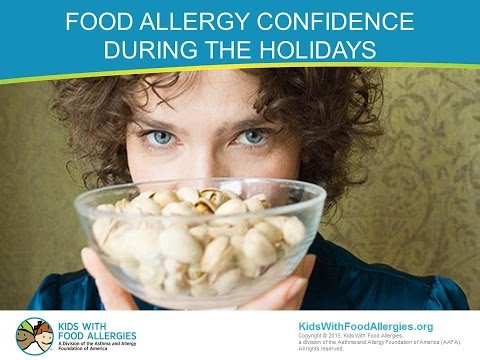Food Allergy Confidence During the Holidays