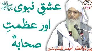 Ishq-e-Nabi (S.A.W) Aur Azmat e Sahaba (R.A)   عشق نبیﷺ اور عظمتِ صحابہؓ   Pir Zulfiqar Ahmed