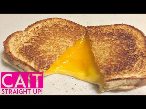 How To Make The Perfect Grilled Cheese Sandwich | Cait Straight Up