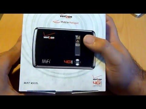 Verizon 4G LTE MiFi Mobile Hotspot Unboxing