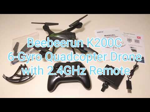 Beebeerun Wifi FPV Quadcopter Drone with Camera Live Video