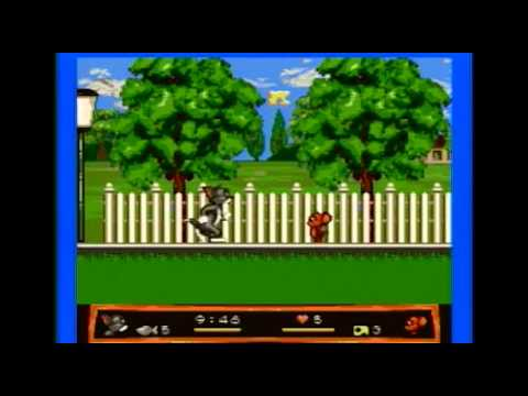 Let's Start A New Game - Tom and Jerry: Frantic Antics! (Genesis)